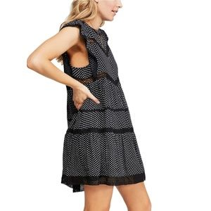 Retro-A-line dress FREE PEOPLE